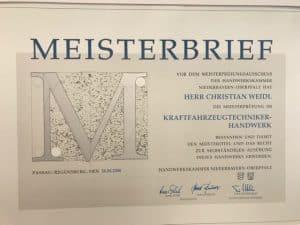 Meisterbrief 1