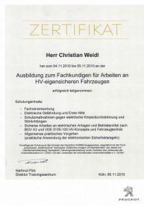 Zertifikat 1-1